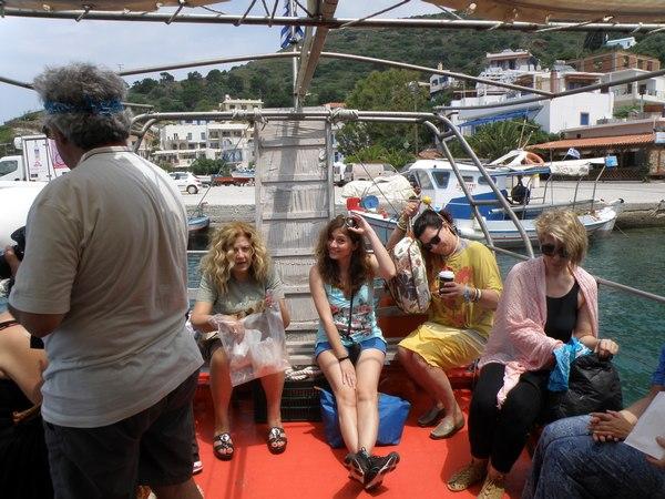 Ταξίδι γνωριμίας 10 Δημοσιογράφων και Τουριστικών Πρακτόρων από την Ελλάδα και το Εξωτερικό στην Ικαρία και τους Φούρνους